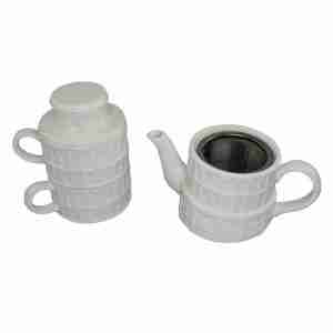 Leaning Tower of Pisa Tea For Two Set by Sunart
