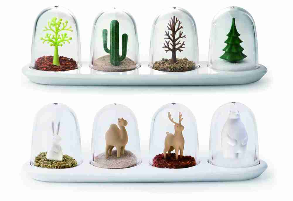 Four Way Seasons Spice Shakers by Qualy