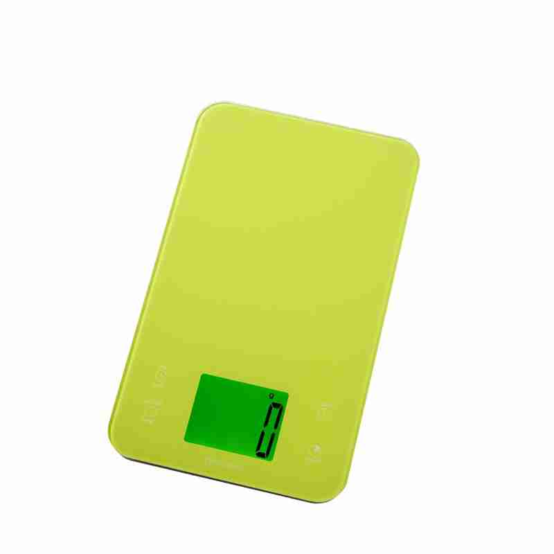 Kitchen Scales with Timer - Green