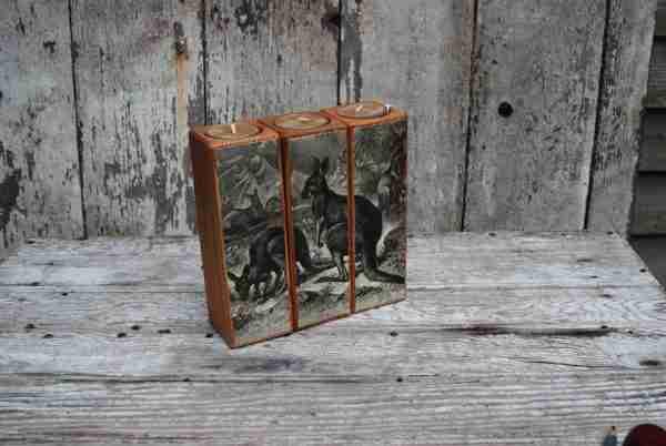 Smokestack 6 inch Set of 3 Candlholders by Peg & Awl