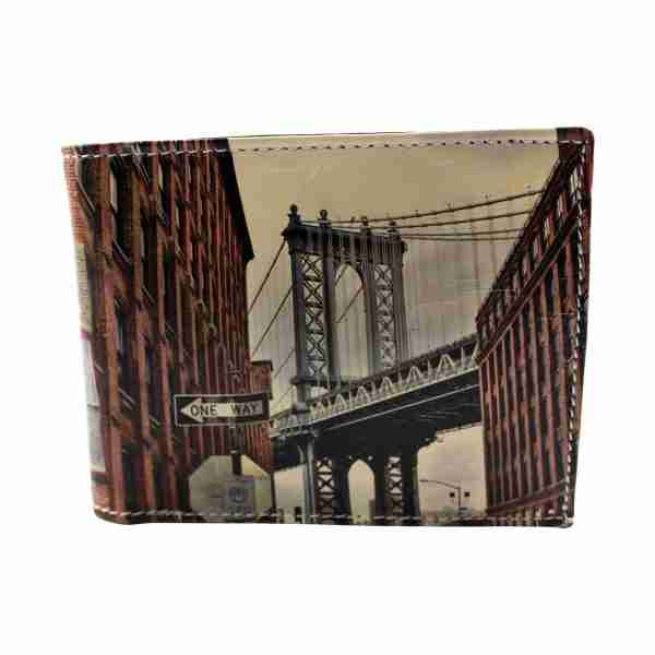 New York Soft Leather Pop Wallet by Studio Manhattan