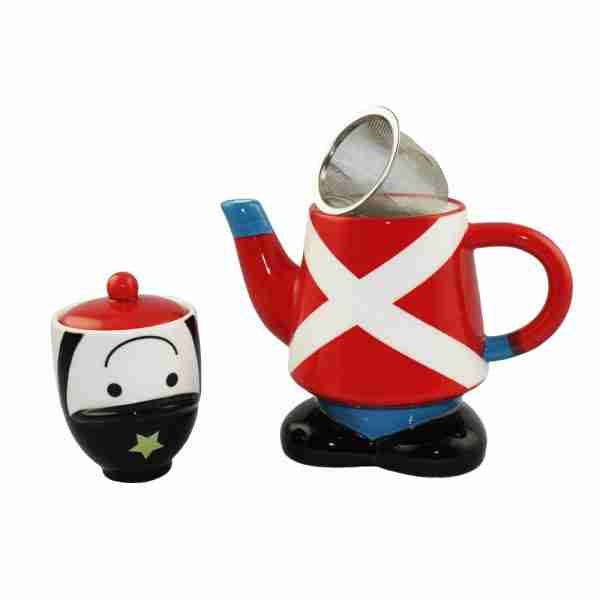 Little Soldier Tea For One Set by Sunart