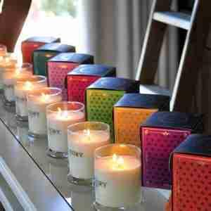 Soy Wax Large Candle Amelia - Mandarin and Kumquat
