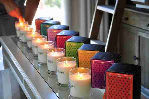 Soy Wax Large Candle Teresa - Melon and Fig