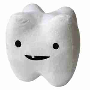 Tooth Molar Plush by I Heart Guts