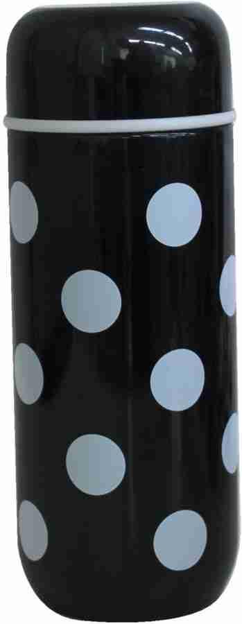 Dot Stainless Steel Bottle - Black and White