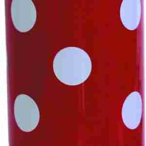 Dot Stainless Steel Bottle - Red and White
