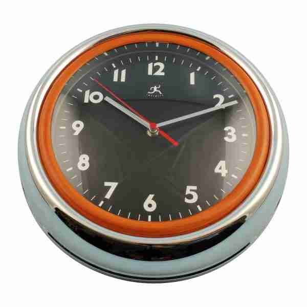 Bogart Retro Wall Clock by Infinity