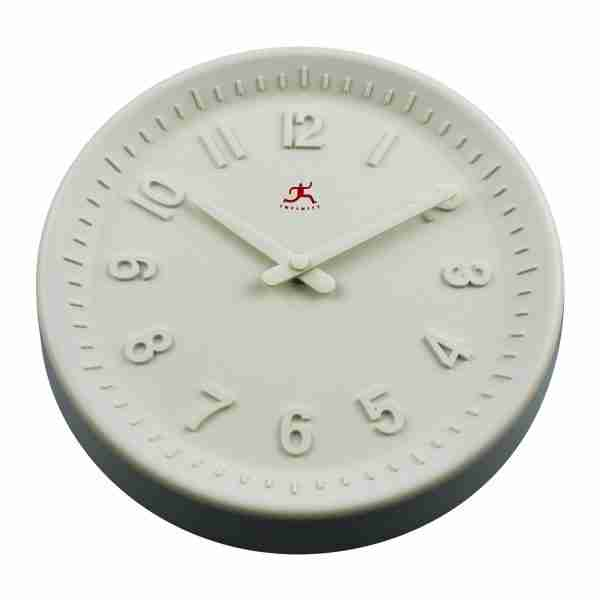 Vanilla White Wall Clock by Infinity