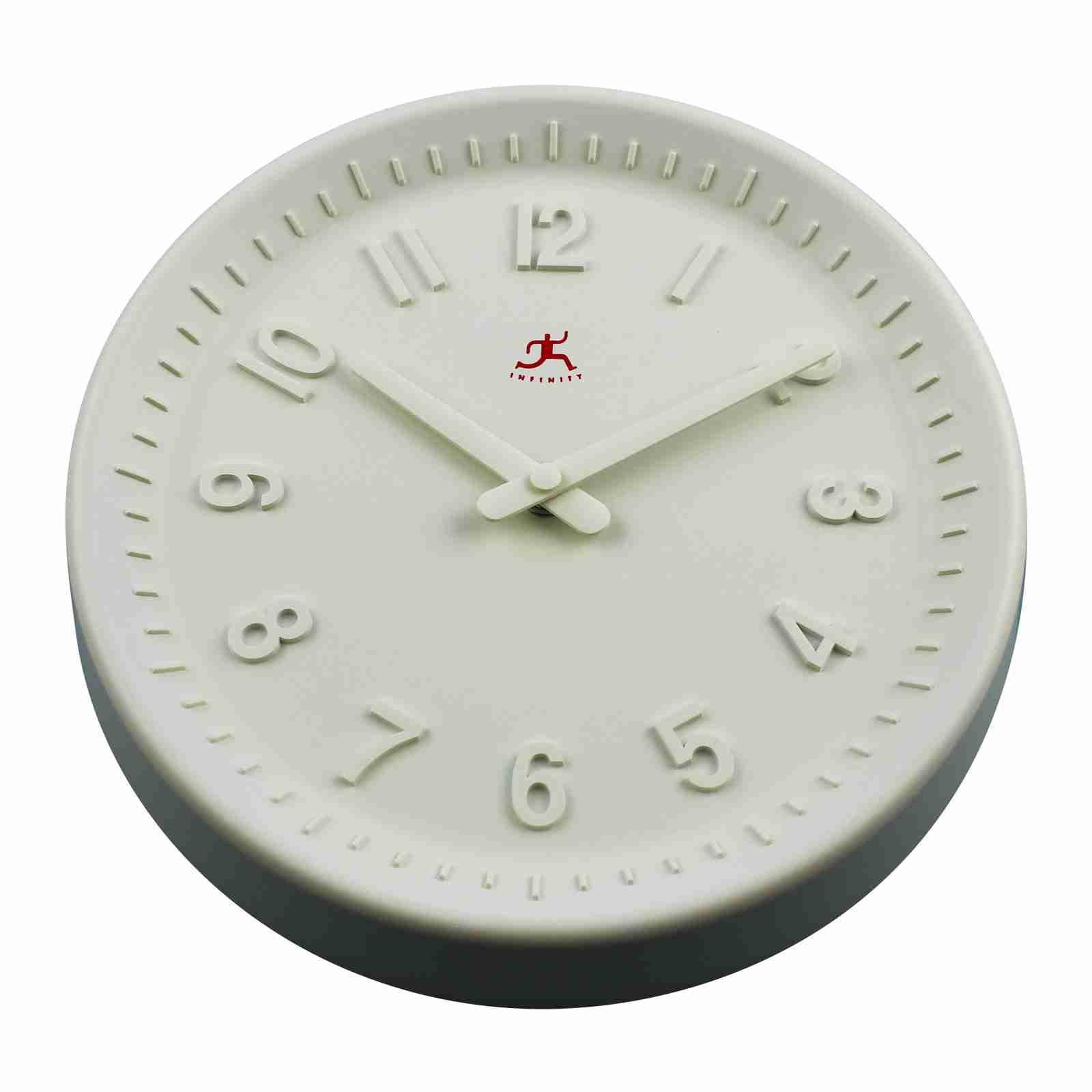 Vanilla White Wall Clock by Infinity