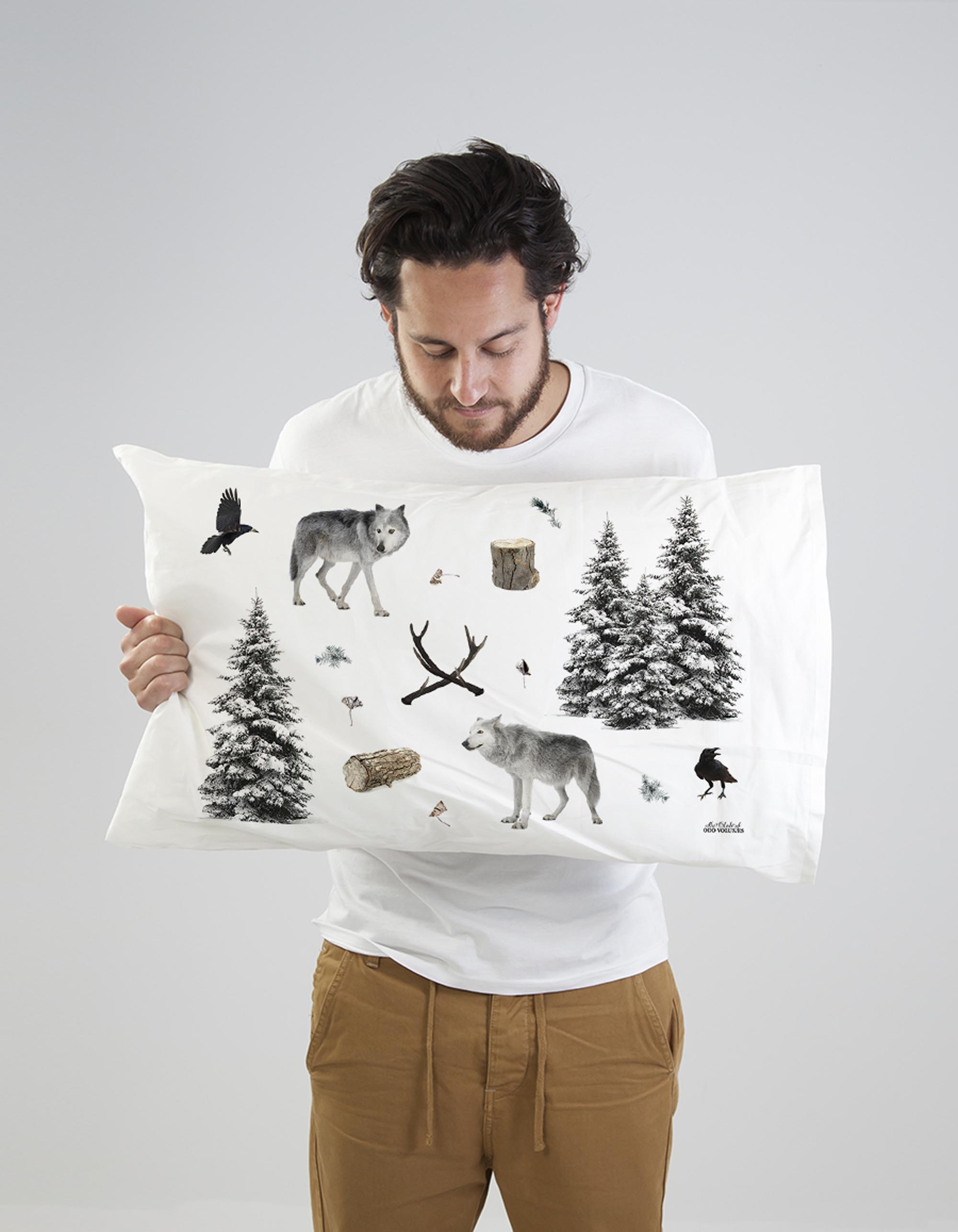 Quirky Cushion Winter Woodlands Pillow Set By Club Of