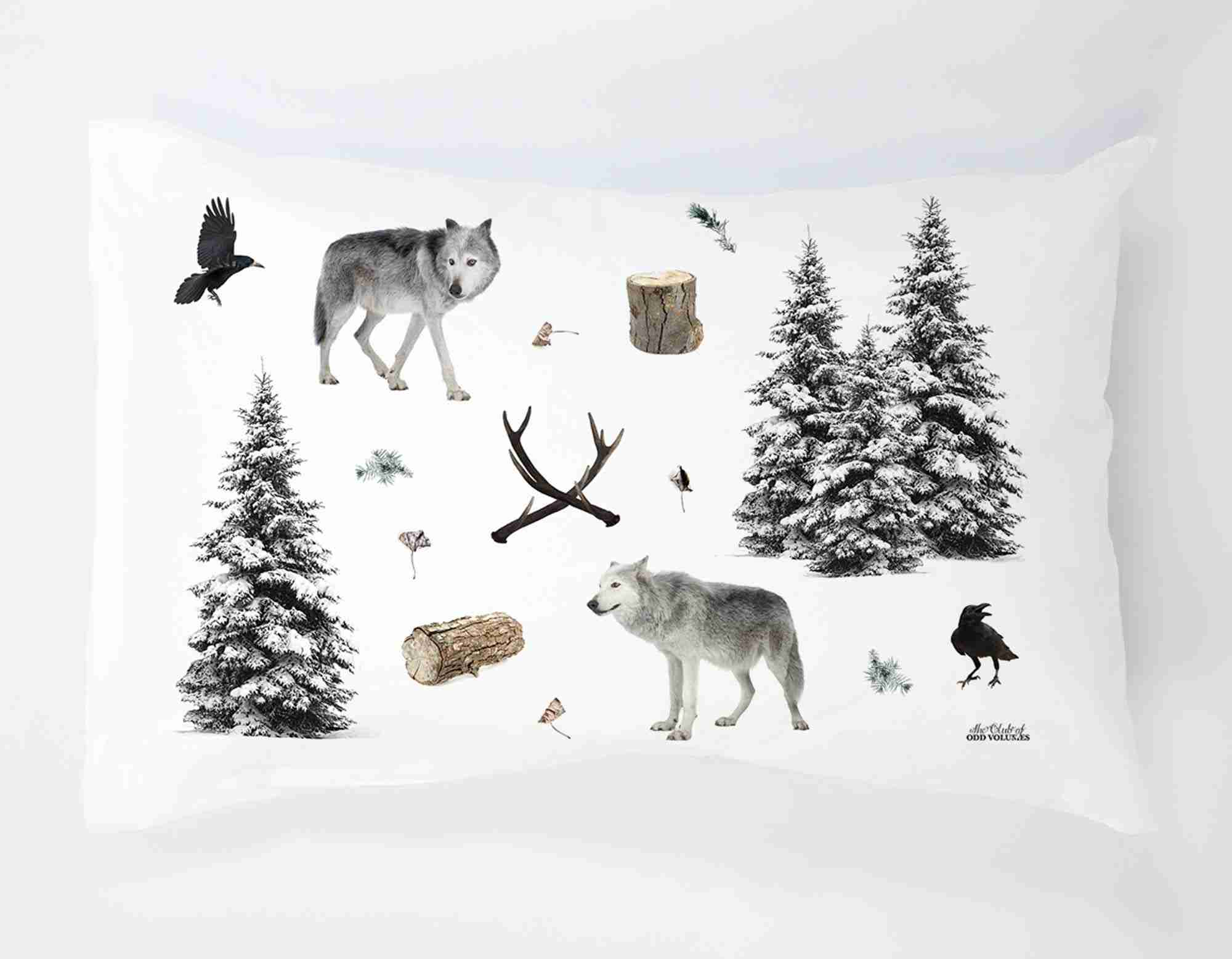 Winter Woodlands Pillow Set by Club of Odd Volumes