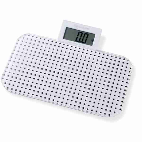 Bathroom Scales: Pattern Range - Star Black