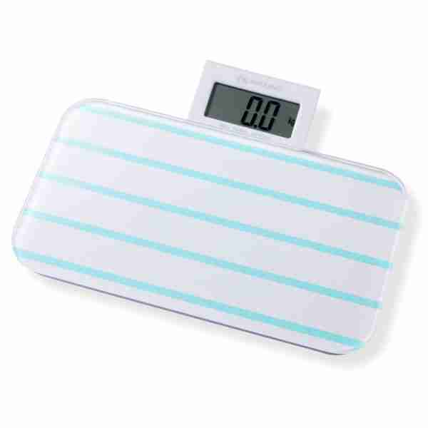 Bathroom Scales: Pattern Range - Line Green