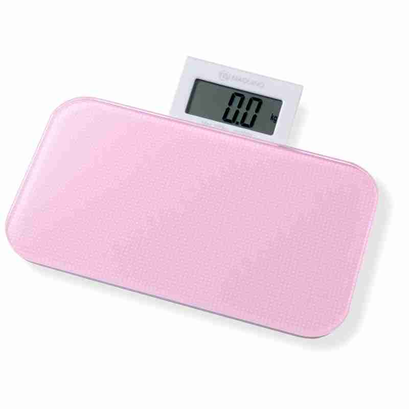 Bathroom Scales: Pattern Range - Dots Pink