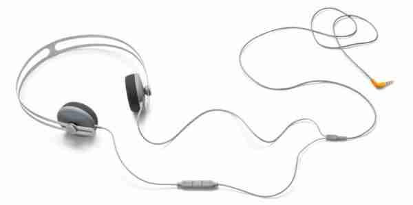 Grey AIAIAI Tracks Headphone with Mic and Remote