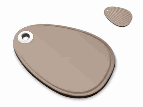 Luxury Eco Homewares - Atollo Ecoplastic Cutting Board (Large) by Legnoart