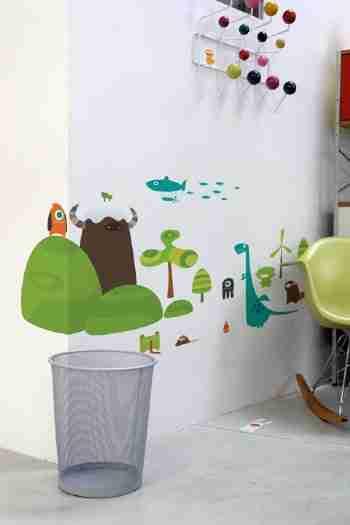 Babybot Land Wall Sticker