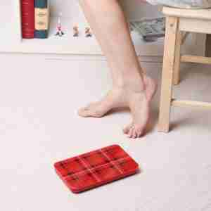 Bel Colore Personal Portable Scales: Fashion Range - Check Red