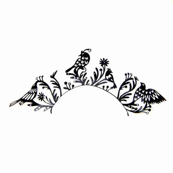 """""""Birds"""" Paper Eyelashes (Large) by PAPERSELF"""