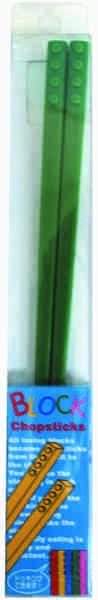 Block Chopsticks - Green