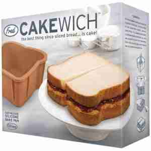 Cakewich Bake a Cake Shaped Like Bread Loaf