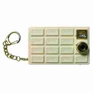 Fuuvi Chocolate Point-n-Click Digital Camera - White