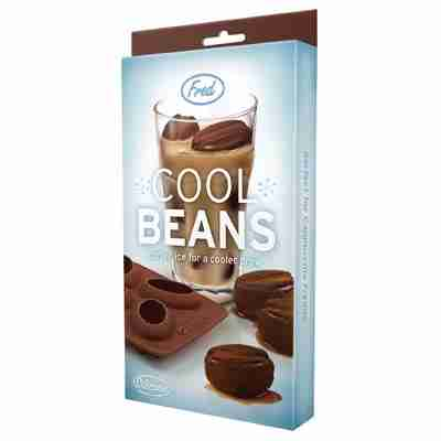 Cool Beans Ice tray for Coffee Lovers Ice Cubes
