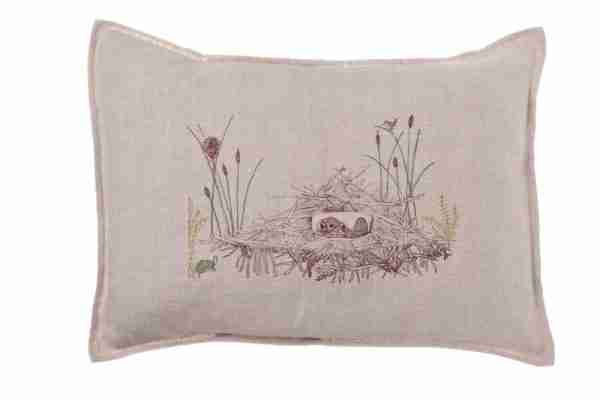 Beaver Dam Pocket Pillow (Feather-Down) by Coral & Tusk