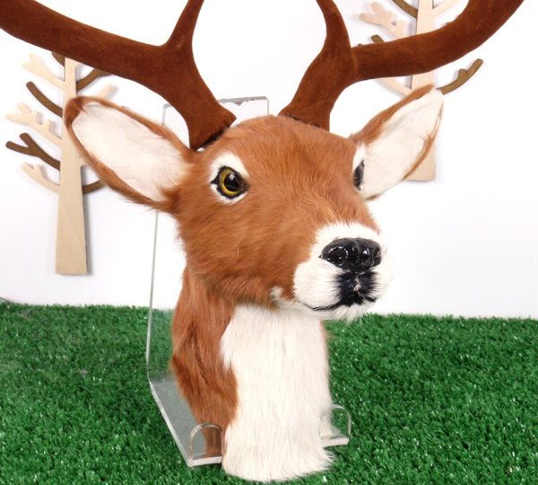 Wall mounted Deer & Moose heads back in stock for Christmas 2015