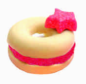 Paper Clay Miniature Food Kit Eraser - Donut (Small)