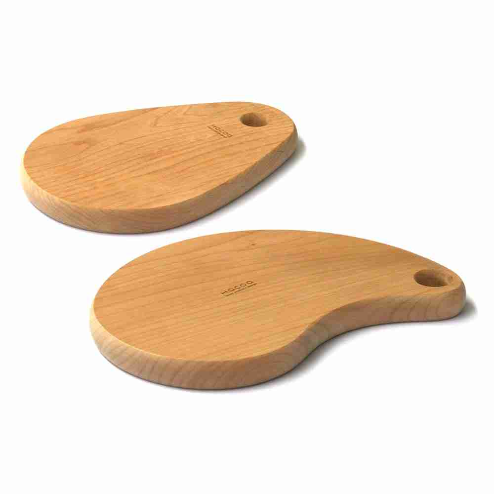 The Bean - Alder Wood Cutting Board by Hacoa