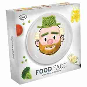 Cute Food Face Kids Plate