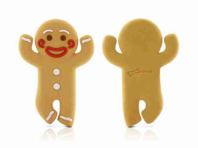 Bone Collection: Gingerbread Wrap Cable Tidy For Earphones