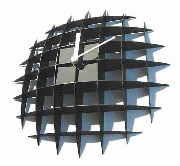 Matrix Grid Wall Clock by +d Japan