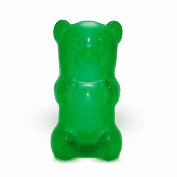 The Gummylamp: Squeezable Green Gummy Bear Lamp