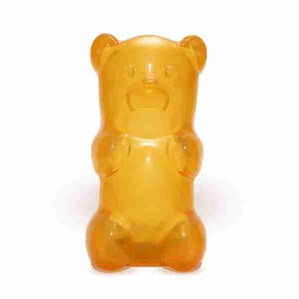 The Gummylamp: Squeezable Orange Gummy Bear Lamp