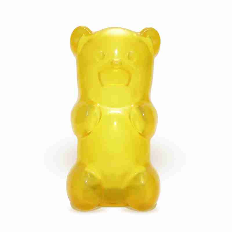 Gummylamp Yellow Gummy Bear Shaped Lamp Novelty Night
