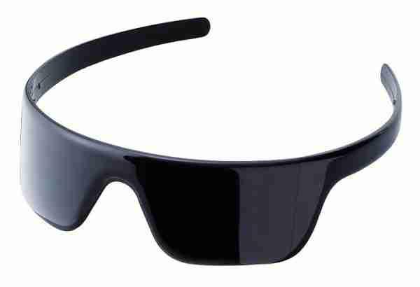 Hairglasses Headband that Look Like Sunglasses in Black