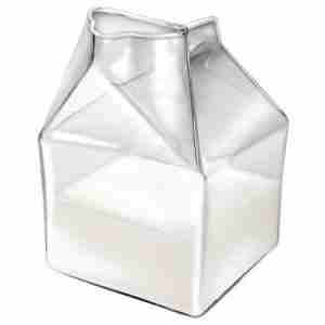 Half Pint - The Mini Glass Carton Creamer