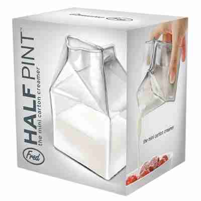 Half Pint - The Mini Glass Carton Creamer