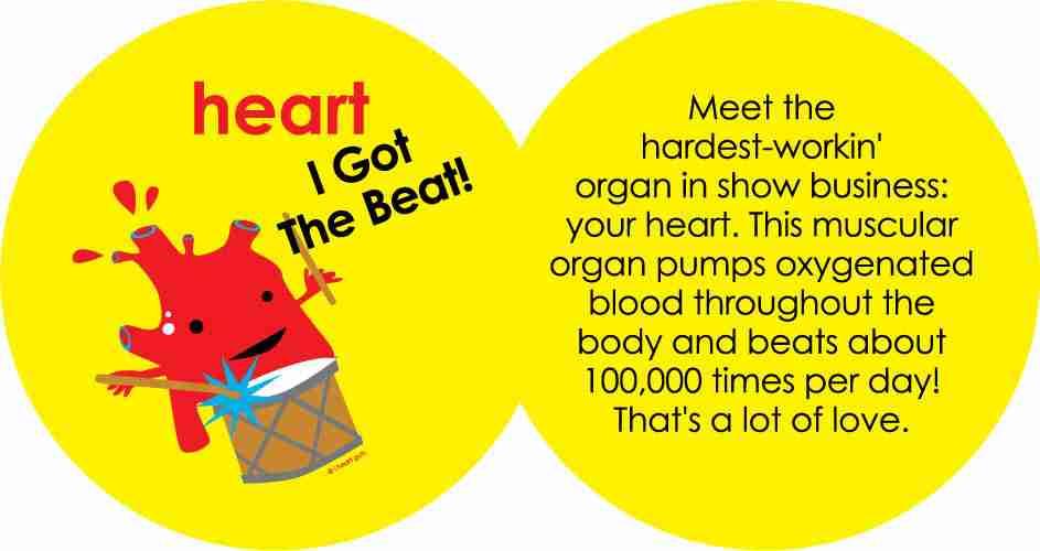 Humongous Heart Plushie By I Heart Guts