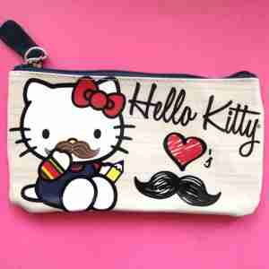 Hello Kitty by Loungefly Moustache Pencil Case