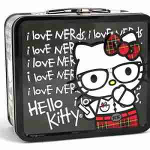 Hello Kitty by Loungefly Nerds Chalkboard Lunchbox