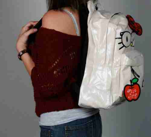 Hello Kitty by Loungefly Nerds Backpack With Ears