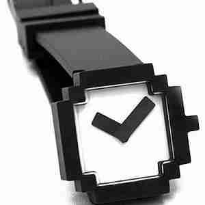 ICON Retro Style Wrist Watch Black