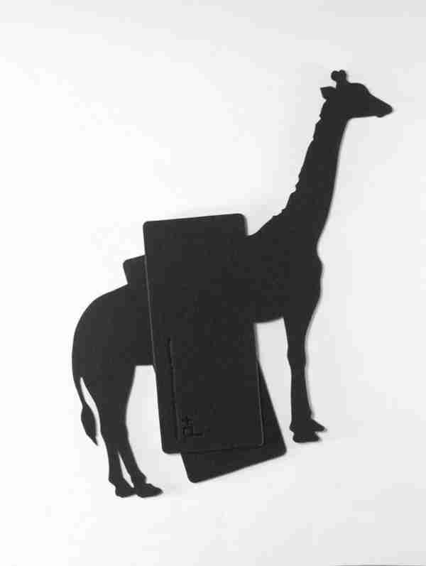 Book Case Animal Index Series: Giraffe