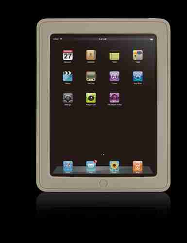 Bone Collection Brown Apple iPad Leather Stylish Protective Case