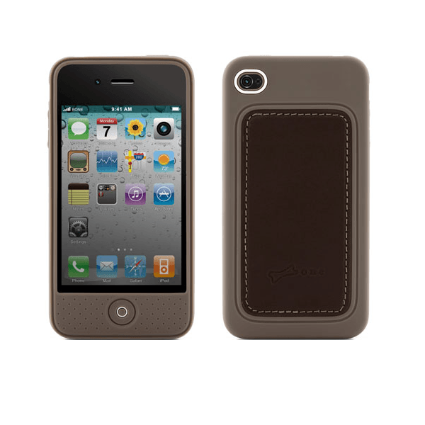 Bone Collection Apple iPhone 4 Leather Stylish Protective Case Brown