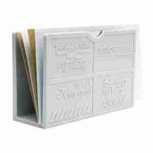 Par Avion Letter Holder - Cool Grey